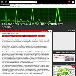 Les données liées à la santé : une sécurité très sensible