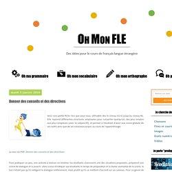 Oh mon Fle !: Donner des conseils et des directives