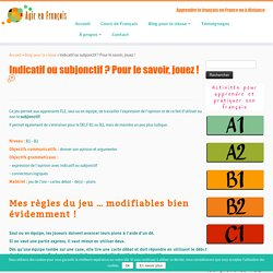 Donner son opinion - FLE