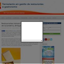 Site para donos de Restaurantes, Bares e similares