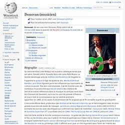 Donovan (musicien)