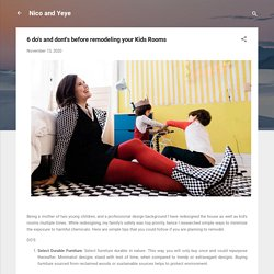 6 do's and dont's before remodeling your Kids Rooms