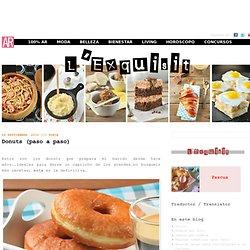 Donuts (paso a paso)