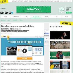 Doochoo, un nuovo modo di fare ricerche di mercato
