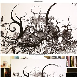 Big Doodle - artwork by Lawrence Yang - StumbleUpon