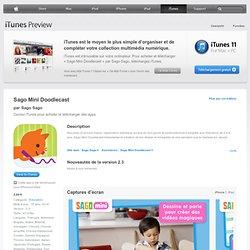 Doodlecast for Kids pour iPhone 3GS, iPhone 4, iPhone4S, iPhone5, iPodtouch (3egénération), iPod touch (4e génération), iPod touch (5e génération) et iPad dans l'App Store d'iTunes