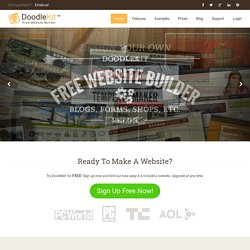 Free Website Builder - Creator - Maker