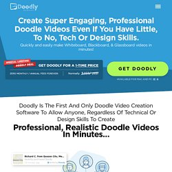 - Easily Create Whiteboard Doodle Videos In Minutes!