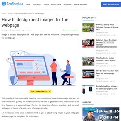 How to design best images for the webpage - Doographics Blog - Graphics Design and advertising tips, inspiration and ideas