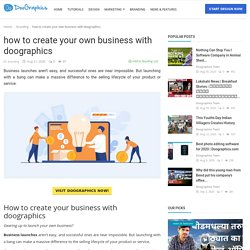 how to create your own business with doographics - Doographics Blog - Graphics Design and advertising tips, inspiration and ideas