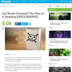 Are Books Doomed? The Rise of the e-Reader [INFOGRAPHIC]