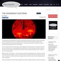 The Doomsday Doctrine