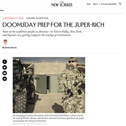 Doomsday Prep for the Super-Rich