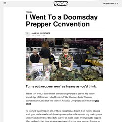 I Went To a Doomsday Prepper Convention - Vice