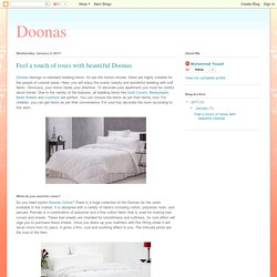 Doonas: Feel a touch of roses with beautiful Doonas