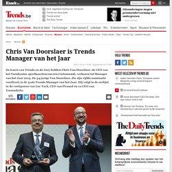 Chris Van Doorslaer is Trends Manager van het Jaar - Mensen