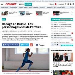 Athlé - Dopage en Russie: Les personnages clés de l'affaire