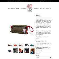 Dopp Kit Made in USA
