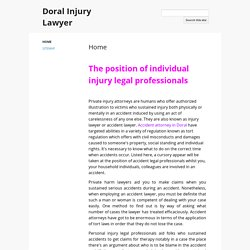 Doral Injury Lawyer