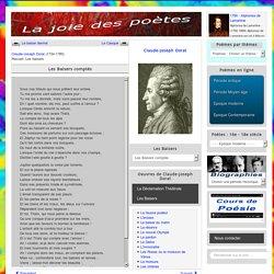 Dorat - Les Baisers comptés - La joie des poètes