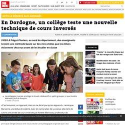 En Dordogne, un collège teste une nouvelle technique de cours inversés