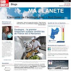 Dordogne : le premier restaurant scolaire certifié bio de France est à Marsaneix