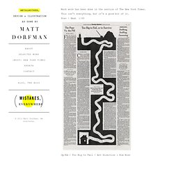 (MOST) NEW YORK TIMES : Matt Dorfman : Design + Illustration