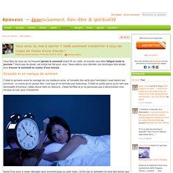 Vous avez du mal à dormir ? Voilà comment s'endormir à tous les coups en moins d'une minute