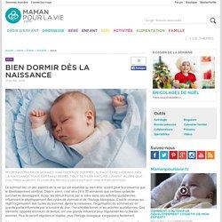 Bien dormir dès la naissance - Santé - Enfant - Sommeil