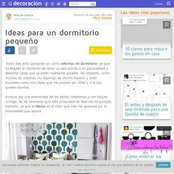 Ideas para un dormitorio pequeño