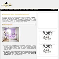 CONSEJOS: Dormitorios a dos colores, ideas y posibles combinaciones