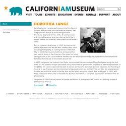 Dorothea Lange - California Museum