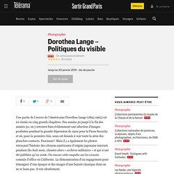 Dorothea Lange : politiques du visible - Expos dans le Grand Paris