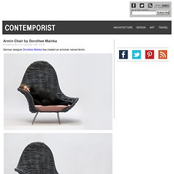 Armin Chair by Dorothee Mainka