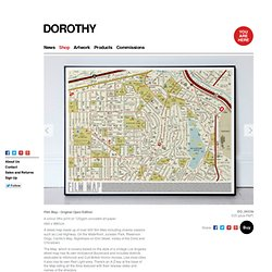Dorothy - Film Map - Original Open Edition