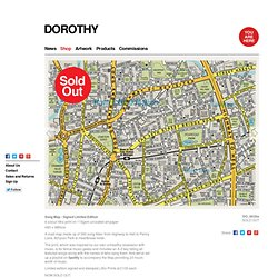 Dorothy | Song Map Signed Limited Edition