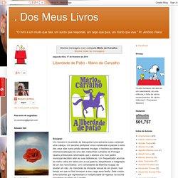 . Dos Meus Livros: Mário de Carvalho