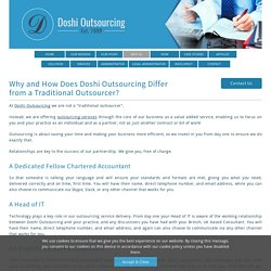 Why Outsourcing Accounting and Bookkeeping To India