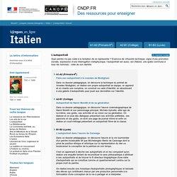 Dossier Accueil - L'autoportrait - Italien - Langues en ligne - CNDP