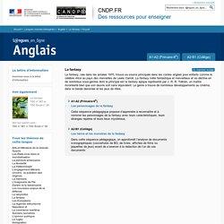 Dossier Accueil - La fantasy - Anglais - Langues en ligne - Réseau Canopé
