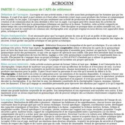 Dossier Acrogym