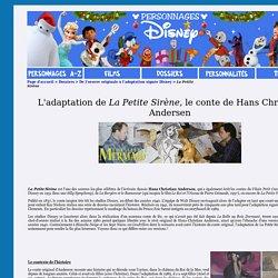 Dossier Adaptations - La Petite Sirène