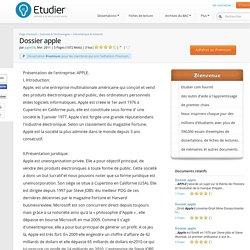 Dossier apple - Compte Rendu - Jugiet08
