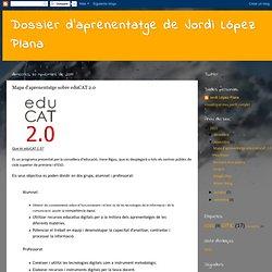 Mapa d'aprenentatge sobre eduCAT 2.0