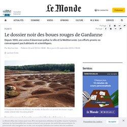 Le dossier noir des boues rouges de Gardanne