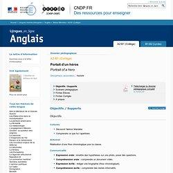 Dossier A2-B1 (Collège) - Nelson Mandela - Anglais - Langues en ligne - CNDP
