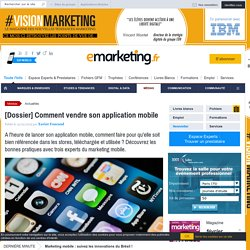 [Dossier] Comment vendre son application mobile