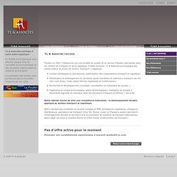 Etude d'impact, Dossier ICPE, Etude de danger, Conseil supply chain et Report Modal - TL & Associés recrute