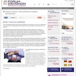 Dossier - Focus sur le crowdfunding