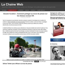 Dossier Curation : Comment partager sa revue de presse sur les réseaux sociaux 5
